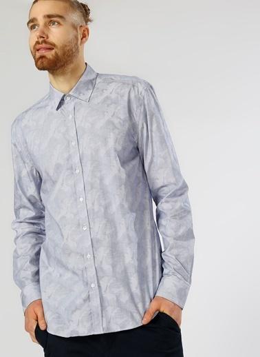 Desenli Uzun Kollu Gömlek-Fabrika